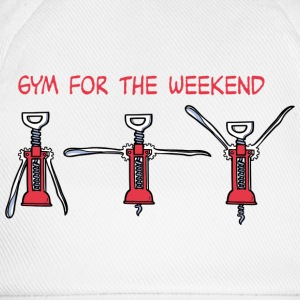 Gym for the Weekend T-shirts - Baseballkasket