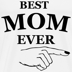 best mom ever Hoodies - Men's Premium T-Shirt