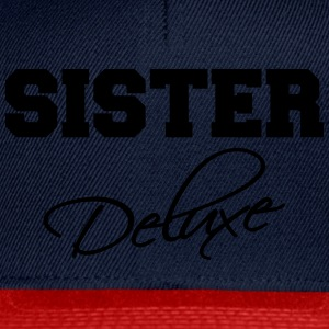 Sister deluxe T-shirts - Snapback cap