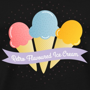 ice cream Bags & Backpacks - Men's Premium T-Shirt