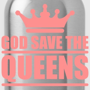 God save the queens (1 color) Torby i plecaki - Bidon