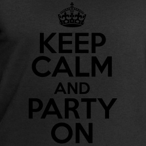 Keep calm and party on T-shirts - Sweatshirt herr från Stanley & Stella