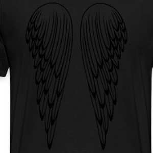 Engelsflügel, Flügel, Engel, angel, wings Long Sleeve Shirts - Men's Premium T-Shirt