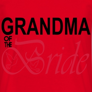 Grandma Of The Bride  Aprons - Men's T-Shirt