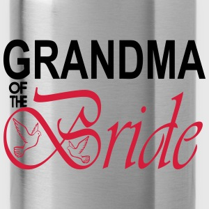Grandma Of The Bride  Aprons - Water Bottle