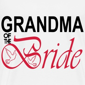 Grandma Of The Bride  Aprons - Men's Premium T-Shirt