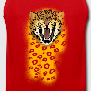 leopard T-Shirts - Men's Premium Tank Top