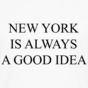 New york is always a good idea Magliette - Maglietta Premium a manica lunga da uomo