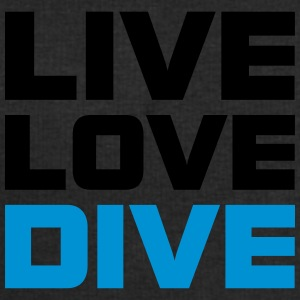 Live Love Dive Taucher T-Shirt T-Shirts - Men's Sweatshirt by Stanley & Stella