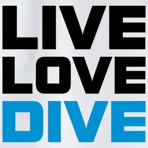Live Love Dive Taucher T-Shirt T-Shirts - Turnbeutel