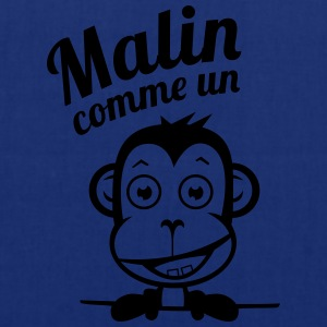 Malin comme un Singe Tee shirts - Tote Bag
