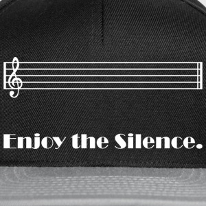 Enjoy the Silence (dark) Tee shirts - Casquette snapback
