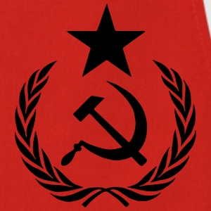 communist t-shirt - Keukenschort
