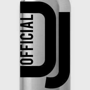 Official Deejay Logo T-Shirts - Water Bottle