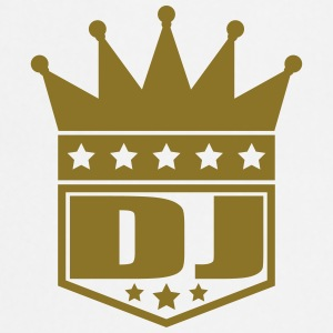 DJ Deejay Star King Banner T-Shirts - Cooking Apron