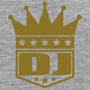 DJ Deejay Star King Banner T-Shirts - Men's Premium Longsleeve Shirt