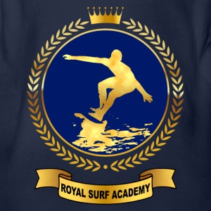 royal surf academy Tee shirts - Body bébé bio manches courtes