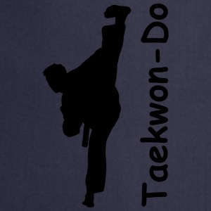 Taekwondo Kick Adult T-Shirt - Cooking Apron