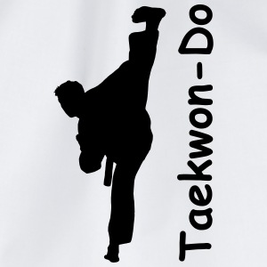 Taekwondo Kick Mug - Drawstring Bag
