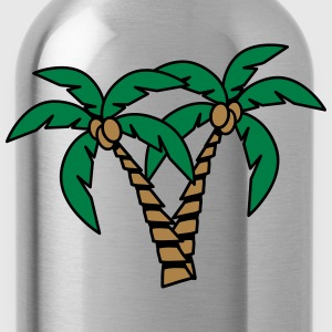 Palm tree coconut group T-Shirts - Water Bottle