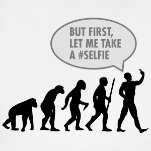 Evolution - But First Let Me Take A #Selfi T-shirts - Baseballkasket