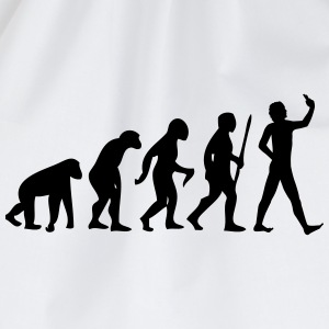 Evolution #Selfie T-shirts - Gymtas