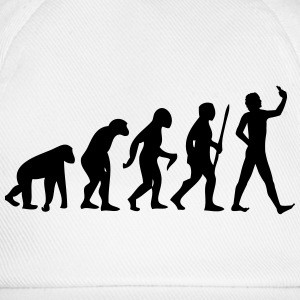 Evolution #Selfie T-shirts - Baseballcap