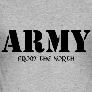 Army from the north Pullover & Hoodies - Männer Slim Fit T-Shirt