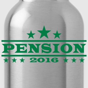 Pension Rente Ruhestand 2016 T-Shirts - Trinkflasche