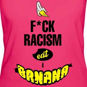 FUCK RACISM EAT A BANANA Bags & Backpacks - Women's Organic T-shirt