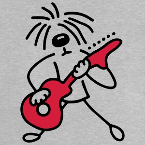 Dog with guitar - V2 Shirts - Baby T-Shirt