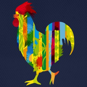 A colorful rooster Tops - Baseball Cap