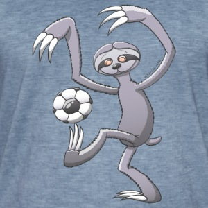 Sloth Playing Football Hoodies & Sweatshirts - Men's Vintage T-Shirt