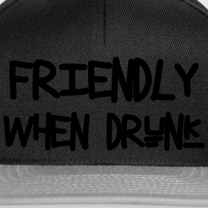 Friendly When Drunk T-shirts - Snapbackkeps