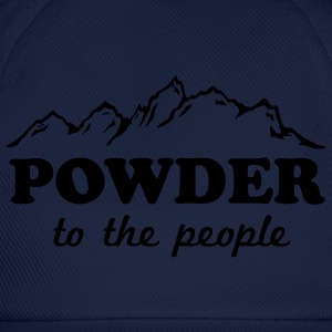 Powder to the People T-Shirts - Baseball Cap