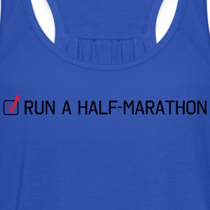 Run a Half-Marathon T-Shirts - Women's Tank Top by Bella