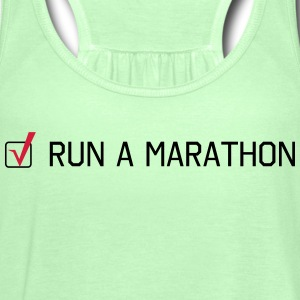 Run a Marathon T-Shirts - Women's Tank Top by Bella
