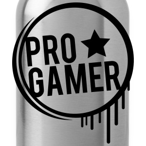 Pro Gamer graffiti de quartier Tee shirts - Gourde