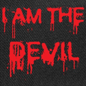 I am the Devil ! Magliette - Snapback Cap