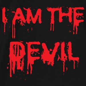 I am the Devil ! Gensere - Premium T-skjorte for menn