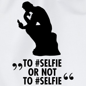 To #Selfie Or Not To #Selfie Tee shirts - Sac de sport léger