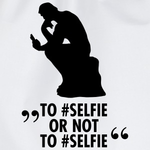 To #Selfie Or Not To #Selfie T-shirts - Gymtas