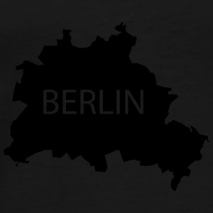 Berlin (Teddy, black white) - Männer Premium T-Shirt