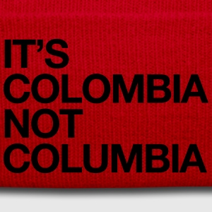 ITS COLOMBIA NO COLUMBIA T-Shirts - Winter Hat