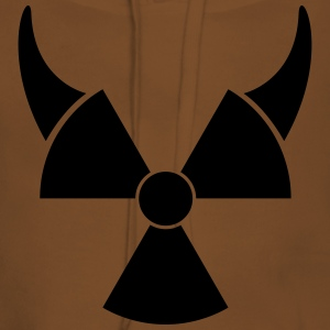 Atom symbol with devil horns T-Shirts - Women's Premium Hoodie