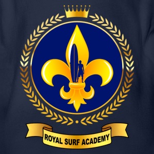 royal surf academy 02 Tee shirts - Body bébé bio manches courtes