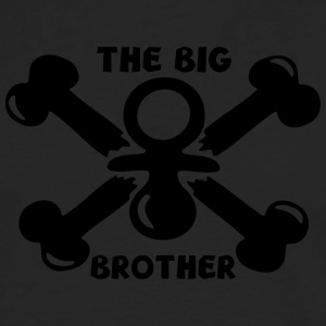big brother baby pirate child Shirts - Men's Premium Longsleeve Shirt