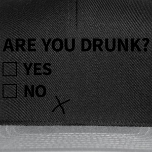 are you drunk Bags & Backpacks - Snapback Cap