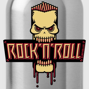 Rock 'n' Roll Skull T-Shirts - Water Bottle