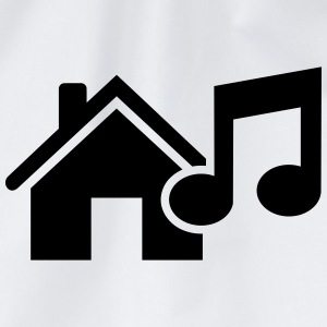 House music T-Shirts - Turnbeutel